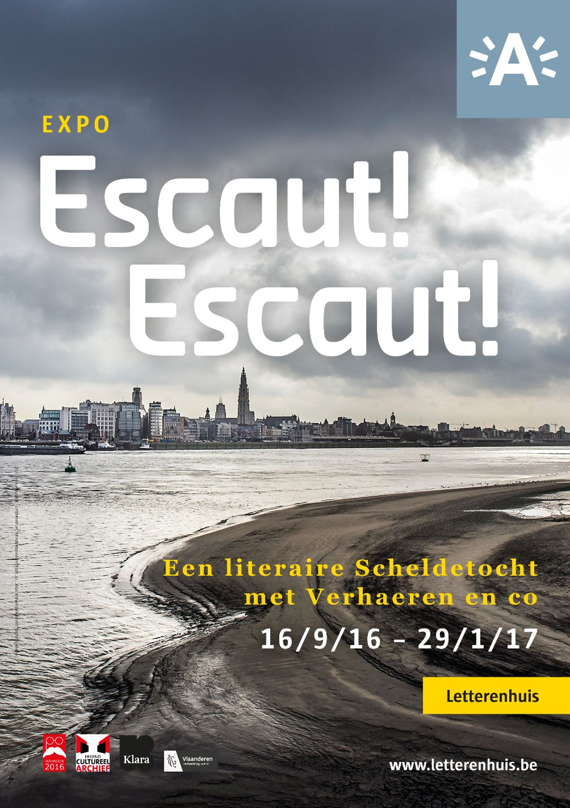 Vijf Vlaamse schrijvers beroemd in heel Europa