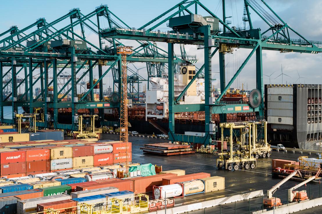 Incident dans le Canal de Suez : l'Autorité portuaire d'Anvers anticipe les terminaux bondés autant que possible