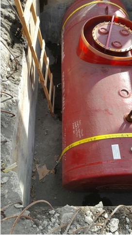 Fuel Tank and Pump Installation, St. Vincent and the Grenadines.