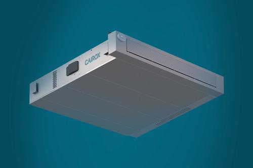 CAIROX bespaart energie met nieuwe warmteterugwinningsunit