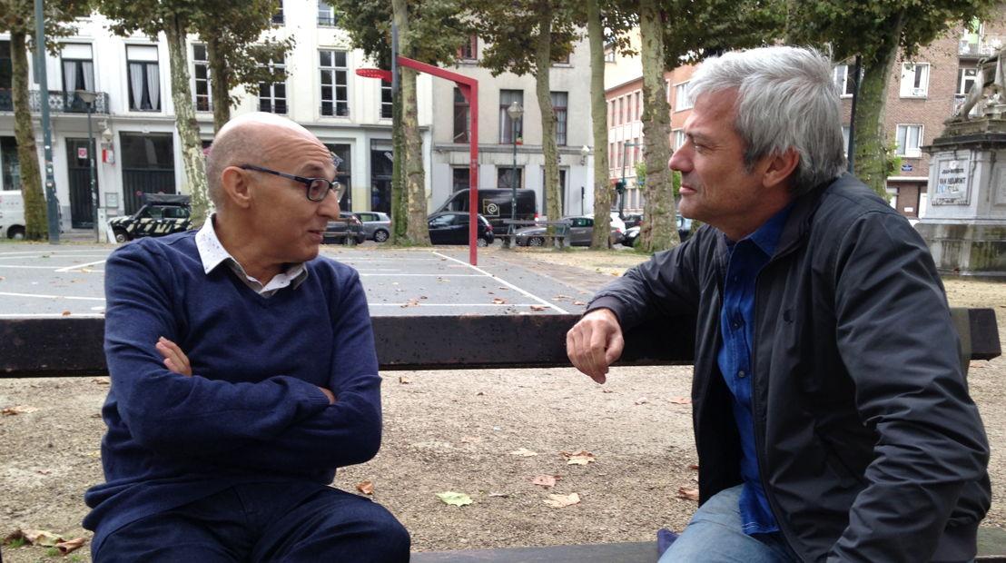 Aflevering 8: Jan met islamleraar Ahmed -<br/> (c) Warner Bros ITVP België