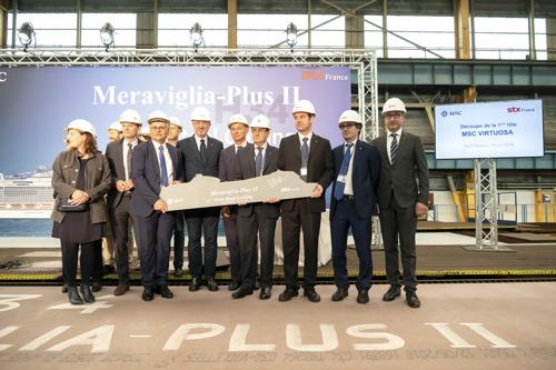MSC Croisières étend le plan d'expansion de sa flotte, avec la commande d'un 13e navire nouvelle génération, d'ici à 2026