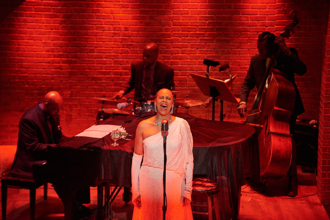 12. Terry Burrell (Billie Holiday) in LADY DAY (photo by Christopher Bartelski)