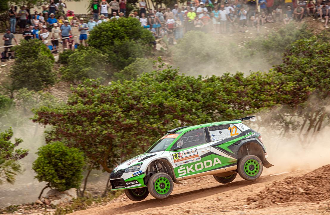 Rally Turkey: ŠKODA's Kalle Rovanperä and Jan Kopecký are facing with their ŠKODA FABIA R5 evo toughest WRC rally of the year