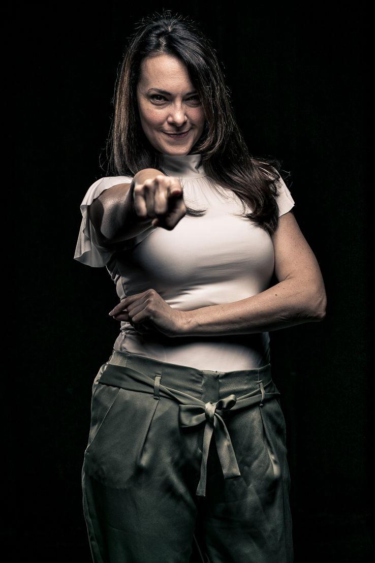 """Tara Ochs as """"Rosemary"""" (photo by Daniel Parvis)"""