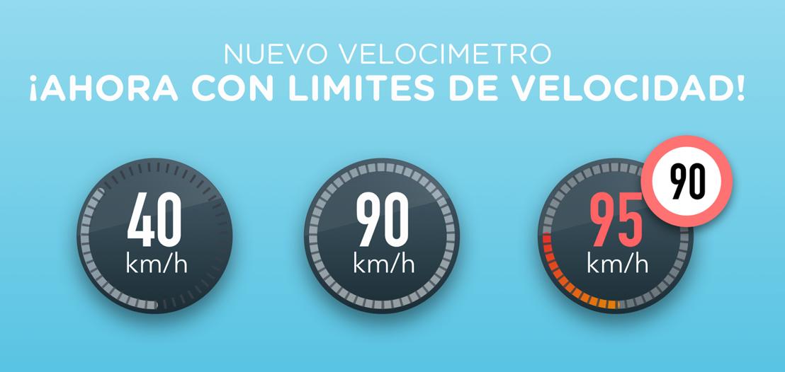 Waze promueve la seguridad vial con tres funciones