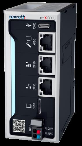 Désormais disponible pour tous : la plateforme de commande compacte ctrlX CORE de Bosch Rexroth