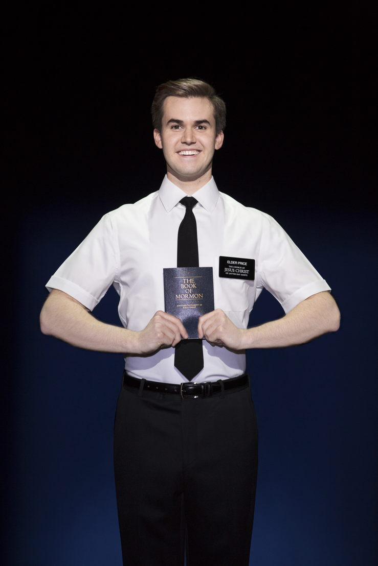 Kevin Clay - The Book of Mormon (c) Julieta Cervantes 2017