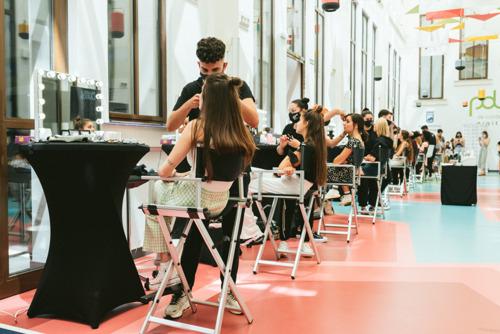 Antonio Eloy Escuela Profesional presenta los looks más de moda en la Pasarela Larios Málaga Fashion Week