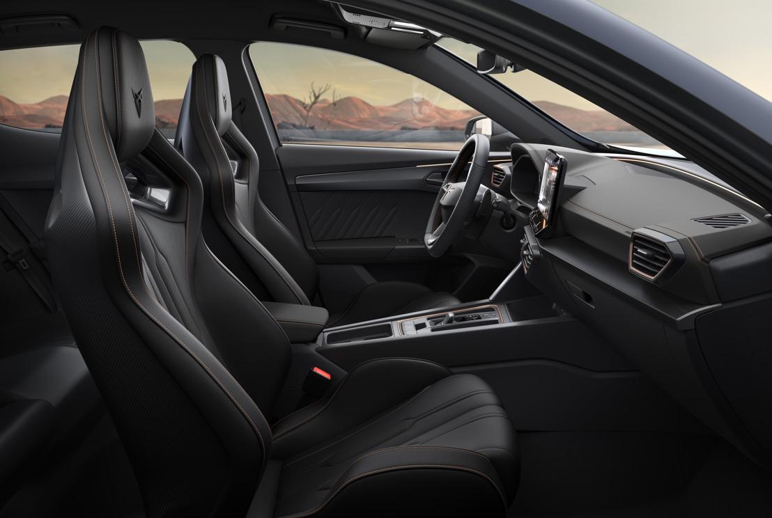 Des sièges uniques pour un véhicule unique