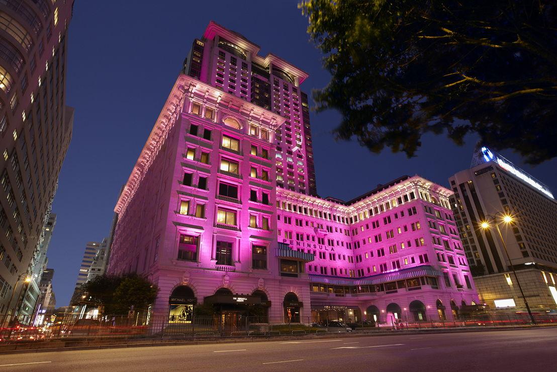 Peninsula in Pink (exterior)