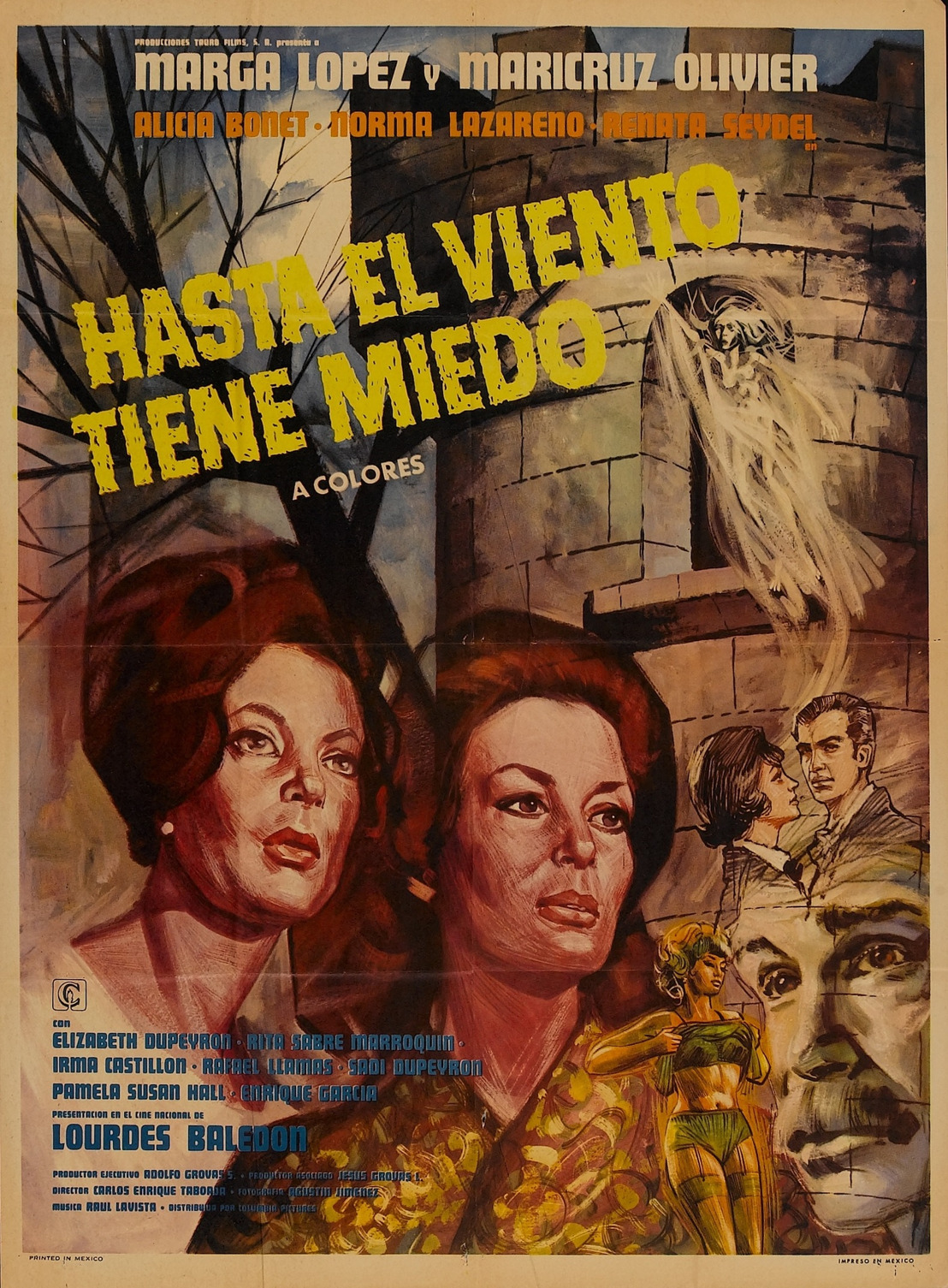 Hasta el viento tiene miedo: una clásica película de terror mexicana