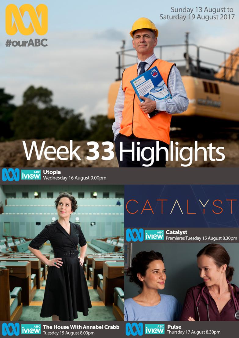 ABC Program Highlights - Week 33