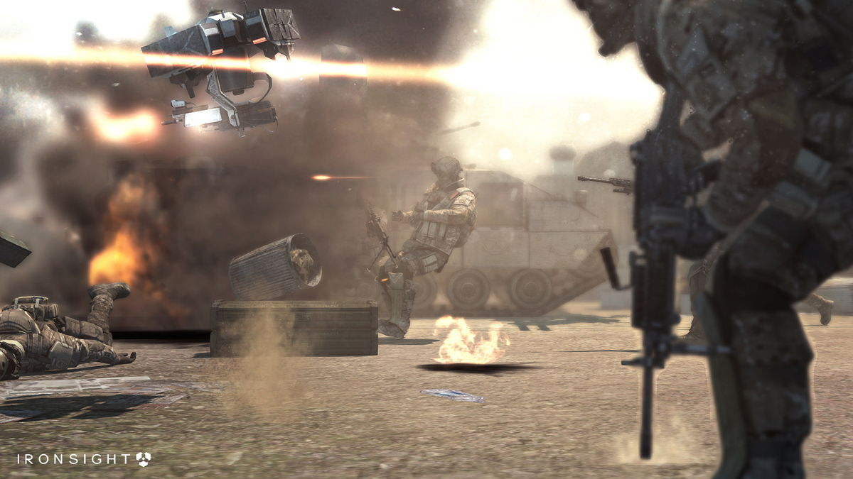 Ironsight - Futuristic Warfare