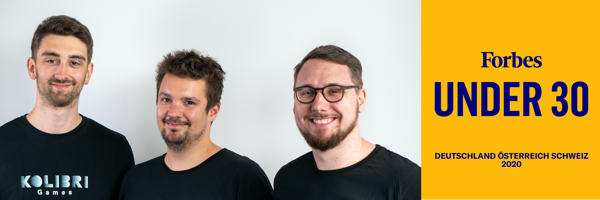 Preview: Kolibri Games Founders On 2020 Forbes Under 30 List