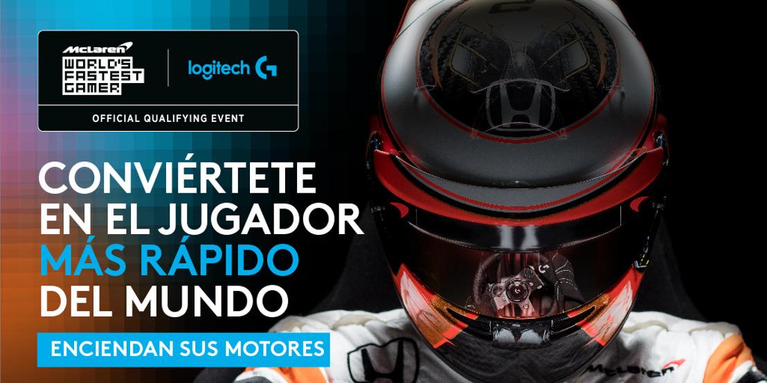 Logitech G y McLaren buscan al mejor corredor de World's Fastest Gamer en América Latina