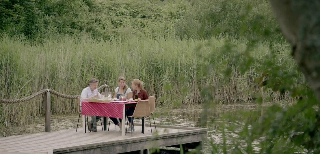 Martin Heylen, Hanna Mariën, Katrien De Ruysscher<br/>Weg zijn wij (c) VRT