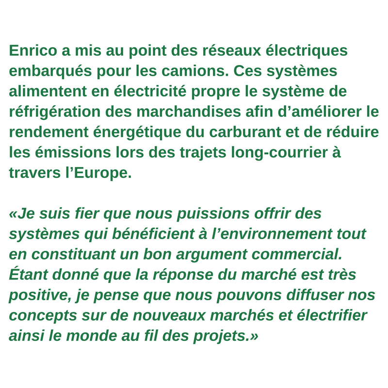 Profil du travailleur vert - Enrico Migchels