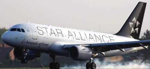 Brussels Airlines viert vijf jaar Star Alliance