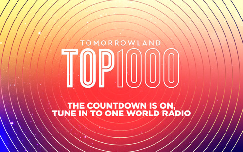 The Tomorrowland Top 1000 is approaching its climax with a brand-new number one