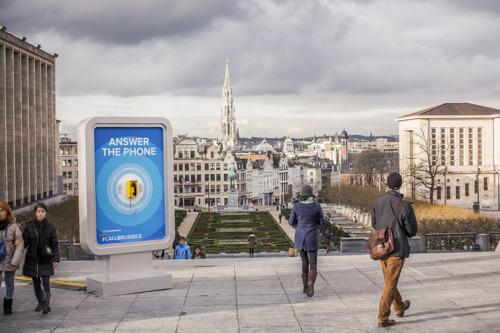 Avec la campagne #CallBrussels, visit.brussels a pour objectif de convaincre les touristes que Bruxelles est toujours une destination de choix