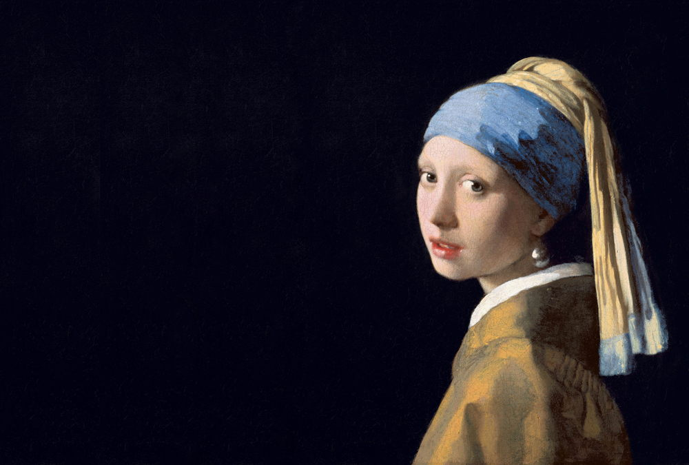 Girl with the Pearl Earring by Vermeer