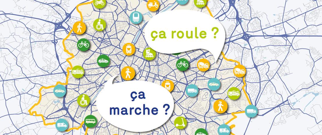 Baromètre de la mobilité à Bruxelles - donnez votre avis!