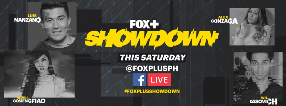 Celebrities battle it out in the FOX+ Showdown