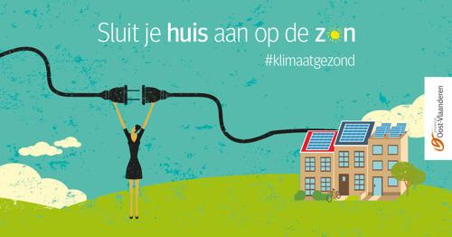 Provincie Oost-Vlaanderen lanceert vierde groepsaankoop zonnepanelen