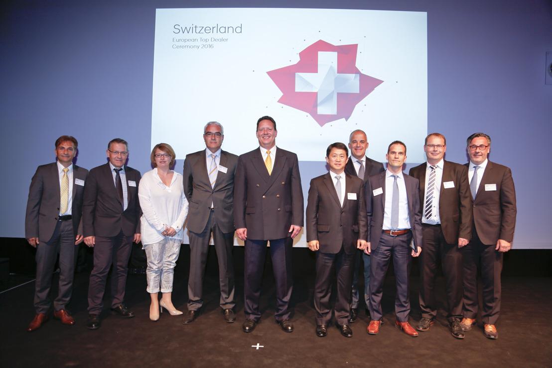 Fünf Schweizer Garagen zählen zu den besten Hyundai Händlern