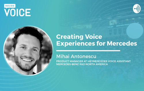 Inside VOICE: Creating Voice Experiences for Mercedes