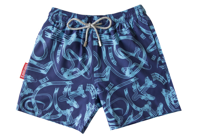 In time for Father's Day: Emirates Official Store collaborates with Joseph & Alexander on an environmentally conscious collection of 'father and son' shorts