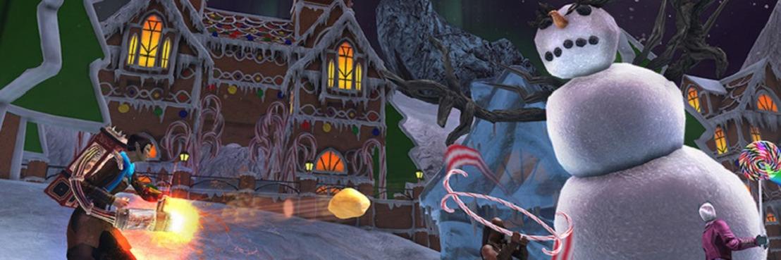 Подарки: скакуны и спутники на зимнем празднике в Neverwinter.