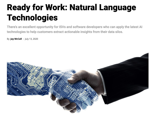 Preview: Ready for Work: Natural Language Technologies