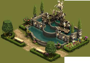 Forge of Empires - Royal Cascade Building