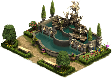 Forge of Empires - Royal Cascade Building