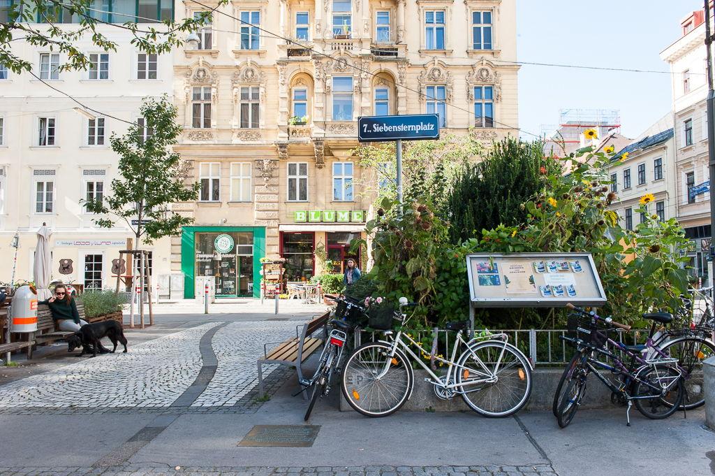 De hippe Weense wijk Neubau bruist van creativiteit.