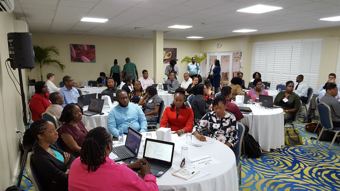 Participants awaiting the start of the workshop. -