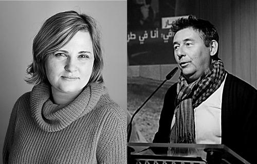 Rudi Vranckx and Elena Milashina receive honorary doctorates from VUB and ULB on World Press Freedom Day