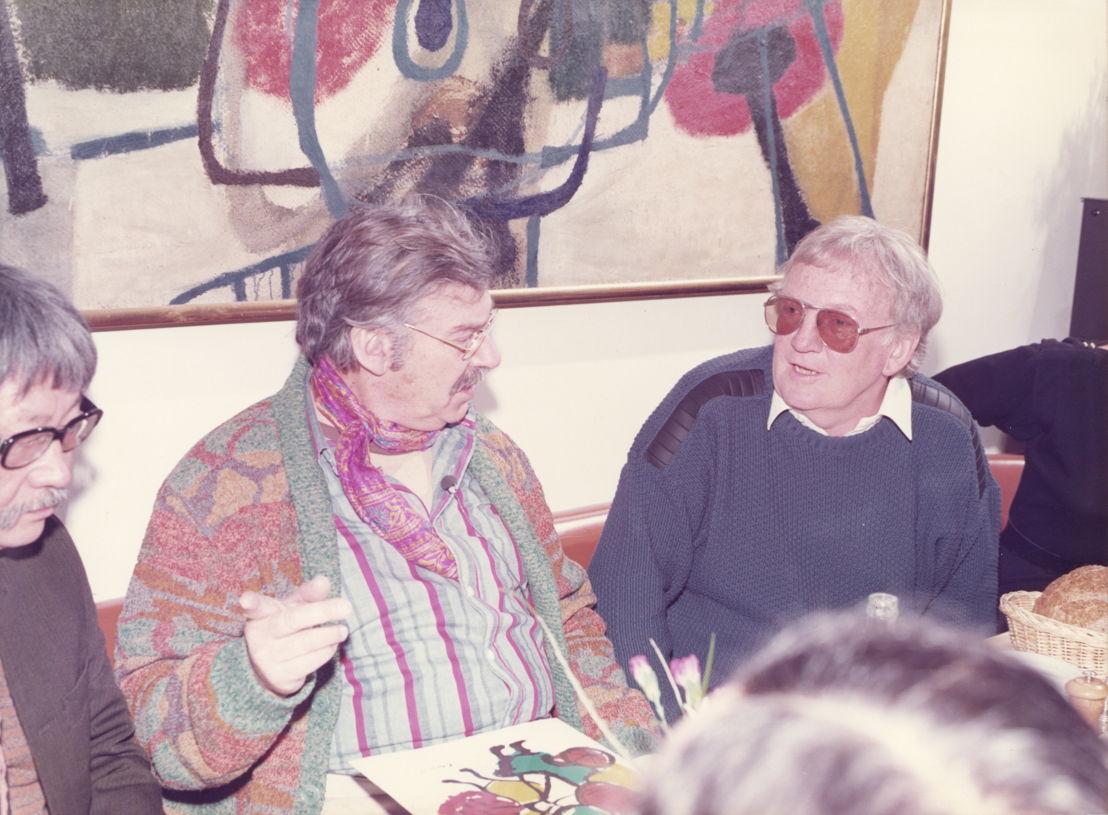 Op bezoek bij Karel Appel in New York, januari 1981