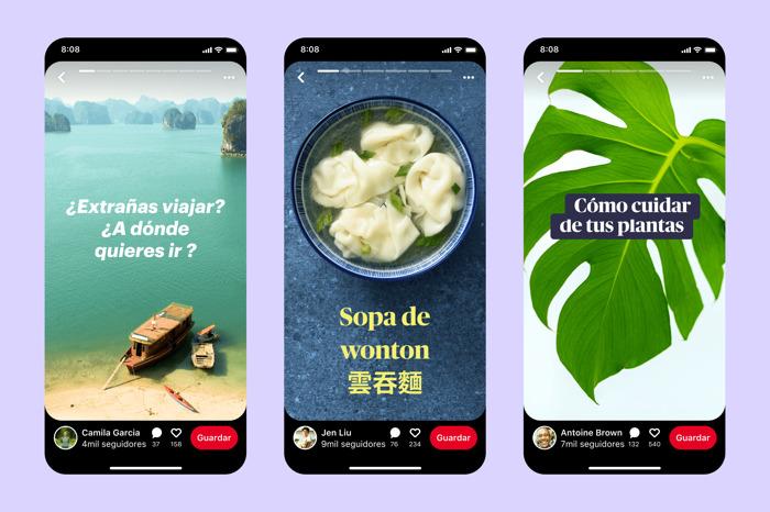 Pinterest presenta nuevas vías de crecimiento y evolución para creadores así como el anuncio de los Story Pins para las publicaciones nativas