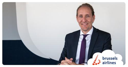 Dieter Vranckx nommé nouveau Chief Executive Officer et Chief Commercial Officer de Brussels Airlines