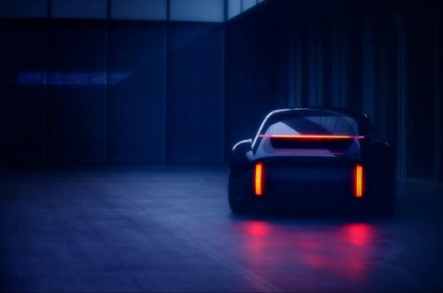 """Hyundai stellt am Automobilsalon Genf 2020 das neue Elektro-Konzeptfahrzeug """"Prophecy"""" vor"""