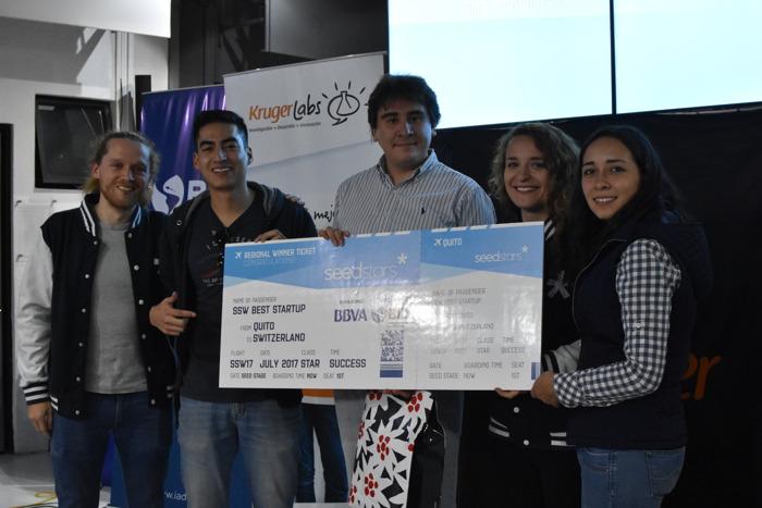 Multidoctores nombrada mejor startup de Ecuador en Seedstars Quito