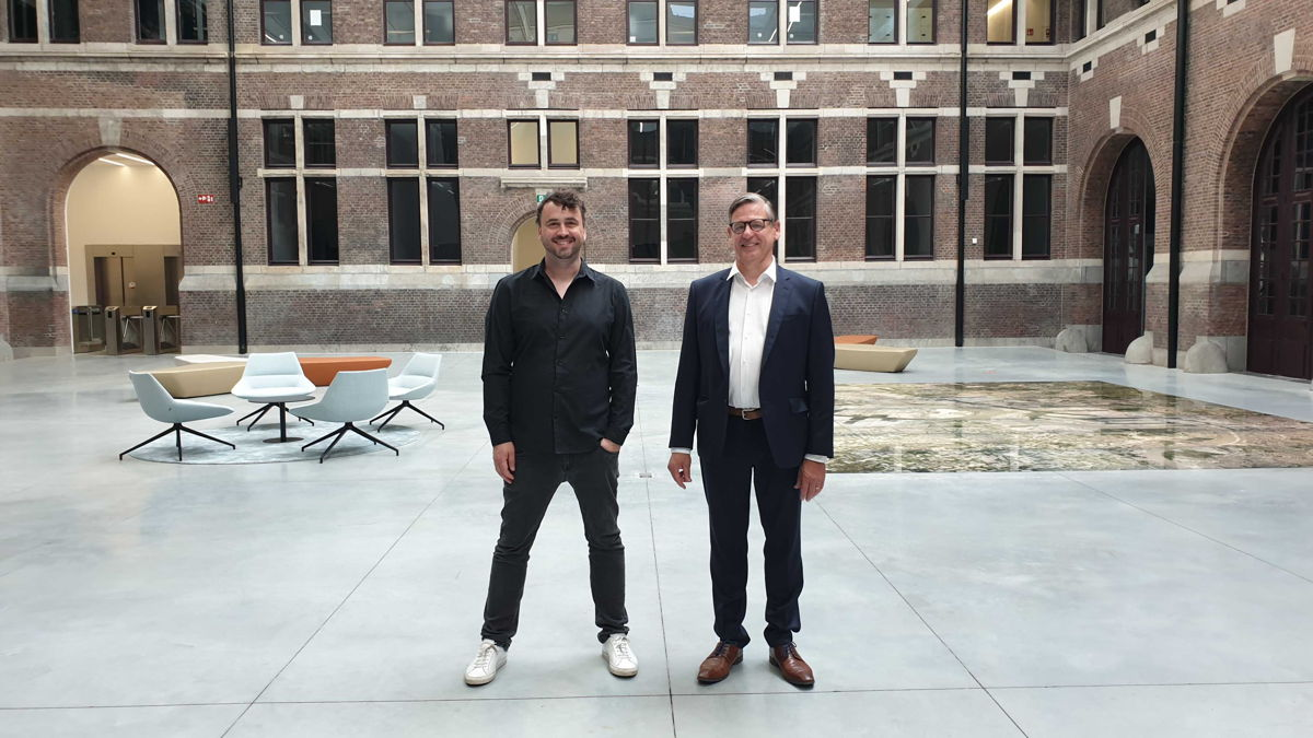Lode Uytterschaut (Start it X) & Jan Van Steen (Omnia Travel)