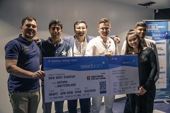 Компания Constant-lab названа самым перспективным казахстанским стратапом на конкурсе Seedstars в Астане