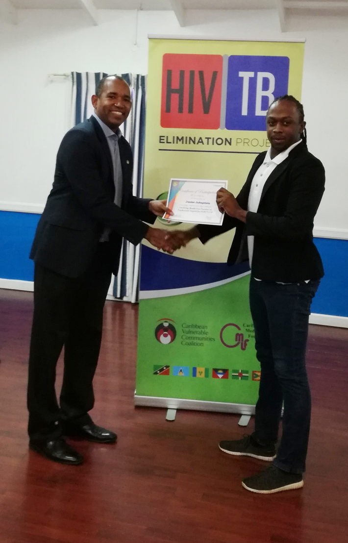 Presentation of Participation Certificates