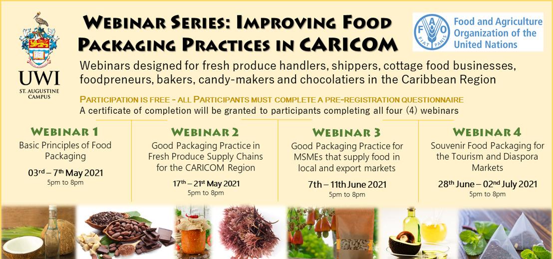 Webinar Series: Improving Food Packaging Practices in CARICOM