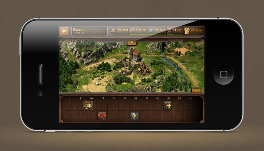 Tribal Wars 2 Smartphone Screenshot