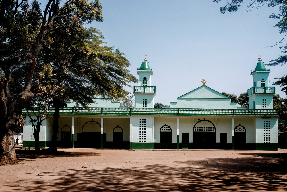MSF159650<br/>Exterior of the Bangui Central Mosque.